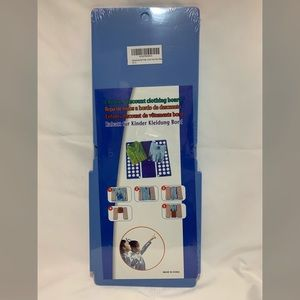 1 Blue kids clothing folding board